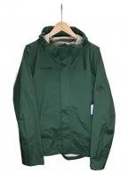 MAMMUT(マムート)の古着「Microlayer HS Hooded Jacket AF」 グリーン