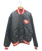 ()の古着「NFL スタジャン」 ブラック