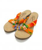 ISLAND SLIPPER(アイランドスリッパー)の古着「サンダル」|オレンジ