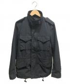 ATTACHMENT(アタッチメント)の古着「ジップアップジャケット」 ブラック