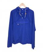 Battenwear(バテンウェア)の古着「アノラックパーカー」 ブルー