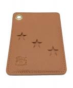 ()の古着「カードケース」 ブラウン