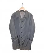 BOSS HUGO BOSS(ボス ヒューゴボス)の古着「ナイロンコート」|グレー