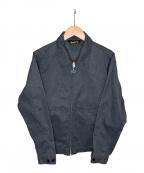 BLUCO WORK GARMENT(ブルコワークガーメント)の古着「ジップアップジャケット」|グレー