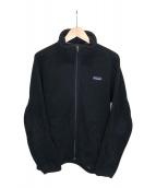 ()の古着「シンチラフリースジャケット」|ブラック