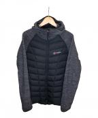 Berghaus(バーグハウス)の古着「中綿ジャケット」|グレー×ブラック