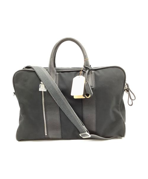 aniary(アニアリ)aniary (アニアリ) 2wayシュリングレザーブリーフバッグ ブラック サイズ:W42×H29×D12.5cm 14-01000の古着・服飾アイテム