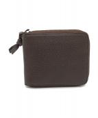 ()の古着「コンパクトファスナー財布」|ブラウン