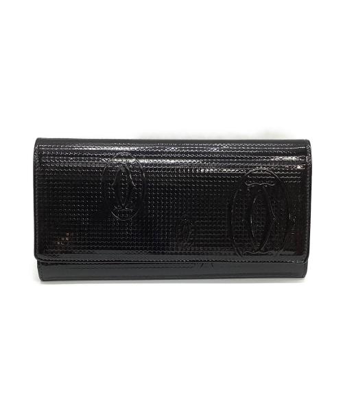 Cartier(カルティエ)Cartier (カルティエ) 長財布 ブラック サイズ:表記なし ハッピーバースデーの古着・服飾アイテム