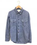 KATO(カトー)の古着「シャンブレーシャツ」|インディゴ