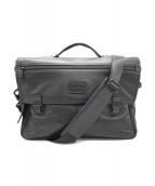 ()の古着「2WAYショルダービジネスバッグ」|ブラック