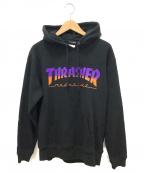 THRASHER(スラッシャー)の古着「プルオーバーパーカー」|ブラック