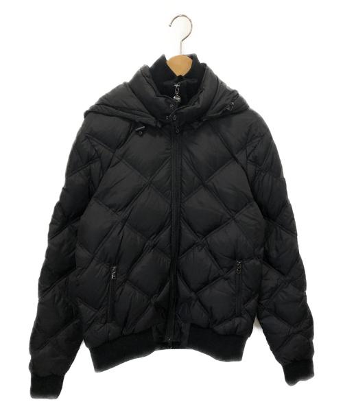 EMPORIO ARMANI EA7(エンポリオ アルマーニ イーエーセブン)EMPORIO ARMANI EA7 (エンポリオアルマーニ イーエーセブン) ダウンジャケット ブラック サイズ:L 冬物 ダウン90%フェザー10%の古着・服飾アイテム