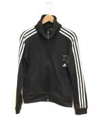 adidas()の古着「ジャージトップ」 ブラック