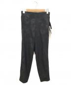 DESCENTE(デサント)の古着「ジャージパンツ」 ブラック