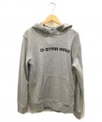 G-STAR RAW(ジースターロゥ)の古着「プルオーバーパーカー」|グレー