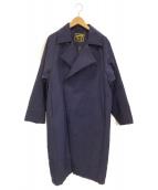 KICS DOCUMENT.(キクスドキュメント)の古着「コート」|ネイビー