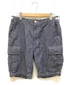 eYe COMME des GARCONS JUNYAWAT(コム デ ギャルソン ジュンヤワタナベマン)の古着「ショートパンツ」|インディゴ