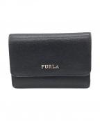 FURLA(フルラ)の古着「3つ折り財布」|ブラック