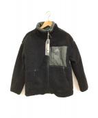 adidas(アディダス)の古着「リバーシブルボアジャケット」|オリーブ×ブラック