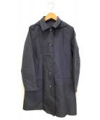 MACKINTOSH PHILOSOPHY(マッキントッシュフィロソフィー)の古着「フーデッドレインコート」|ネイビー