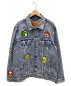 LEVIS(リーバイス)の古着「デニムジャケット」|ブルー