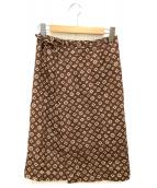 45rpm(フォーティファイブアールピーエム)の古着「巻きスカート」|ブラウン