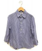 45rpm(フォーティファイブアールピーエム)の古着「プルオーバーチェックシャツ」|ブルー