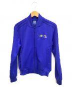 adidas()の古着「トラックジャケット」 ブルー