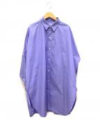 Plage(プラージュ)の古着「シャツワンピース」|ブルー