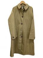 BURBERRY LONDON(バーバリー ロンドン)の古着「ステンカラーコート」|ベージュ
