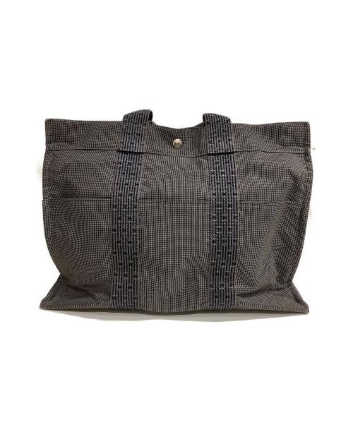 HERMES(エルメス)HERMES (エルメス) トートバッグ グレー エールライン トートMMの古着・服飾アイテム