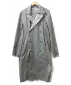 LANVIN(ランバン)の古着「ロングコート」 グレー