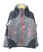 Lowe Alpine(ロウアルパイン)の古着「マウンテンパーカー」 グレー×レッド