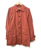 JOURNAL STANDARD relume(ジャーナルスタンダードレリューム)の古着「カラーシングルコート」|オレンジ