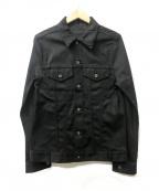 DISCOVERED(ディスカバード)の古着「デニムジャケット」|ブラック