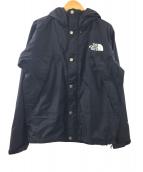 THE NORTH FACE(ザノースフェイス)の古着「マウンテンレインテックスジャケット」|ブラック