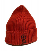 STONE ISLAND(ストーンアイランド)の古着「ニット帽」|レッド