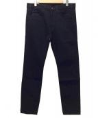 LEVI'S VINTAGE CLOTHING(リーバイスヴィンテージクロージング)の古着「スリムフィットデニムパンツ」 ブラック