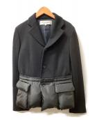 ROBE DE CHAMBRE COMME DES GARCONS(ローブドシャンブルコムデギャルソン)の古着「ジャケット」|ブラック