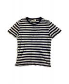 GUCCI(グッチ)の古着「Tシャツ」|ブルー×ホワイト