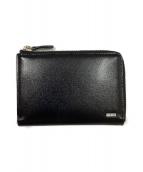 PORTER(ポーター)の古着「L字ファスナー2つ折り財布」|ブラック