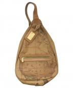 PRIMA CLASSE(プリマクラッセ)の古着「ボディーバッグ」 ブラウン