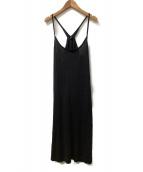45R(フォーティファイブアール)の古着「キャミソールワンピース」|ブラック