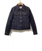 LEVIS(リーバイス)の古着「ダウンデニムジャケット」|インディゴ