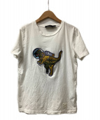 COACH(コーチ)の古着「Space Rexy T-Shirt」|ホワイト