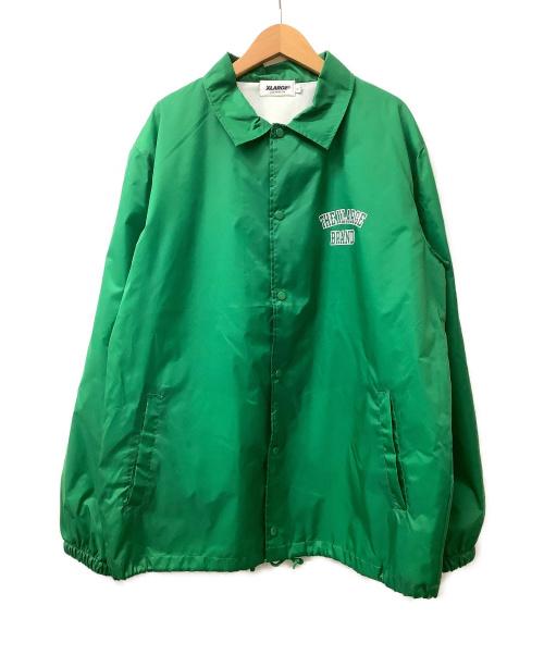 X-LARGE(エクストララージ)X-LARGE (エクストララージ) コーチジャケット グリーン サイズ:SIZE 1の古着・服飾アイテム