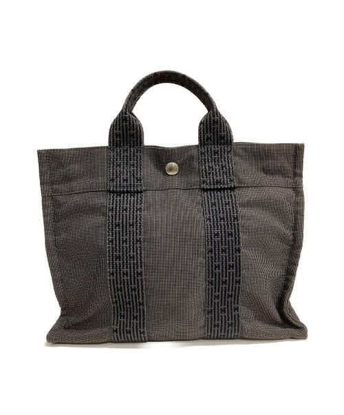 HERMES(エルメス)HERMES (エルメス) トートバッグ グレー エールラインPMの古着・服飾アイテム