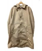 TAKEO KIKUCHI(タケオキクチ)の古着「メッシュボンディングコート」|ベージュ