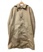 TAKEO KIKUCHI(タケオキクチ)の古着「メッシュボンディングコート」 ベージュ